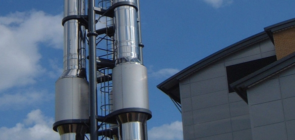 Commercial Chimney Flue Masts